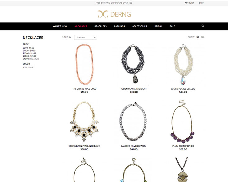 Derng Jewelry